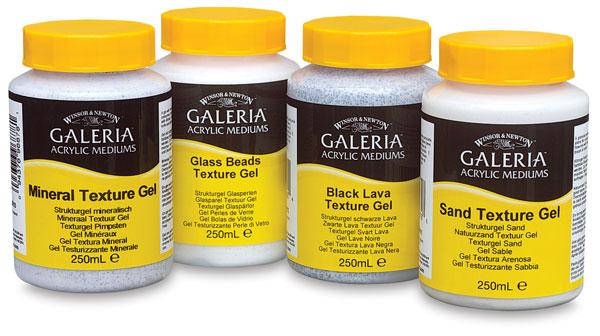 Galeria Texture Gel Mediums