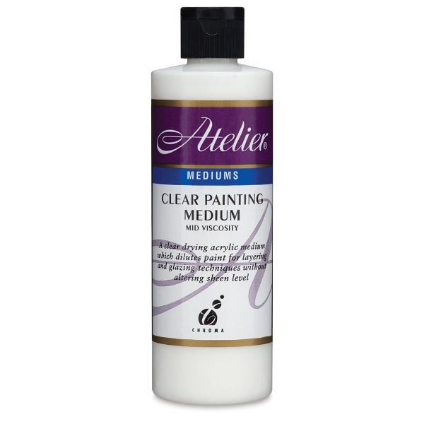 Clear Painting Medium