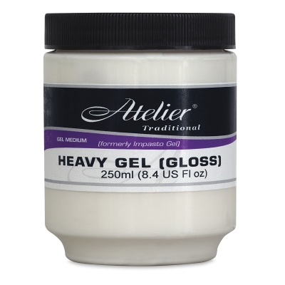 Heavy Gel, Gloss, 8.4 oz