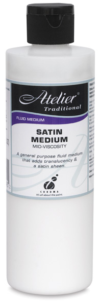 Satin Medium, 8 oz