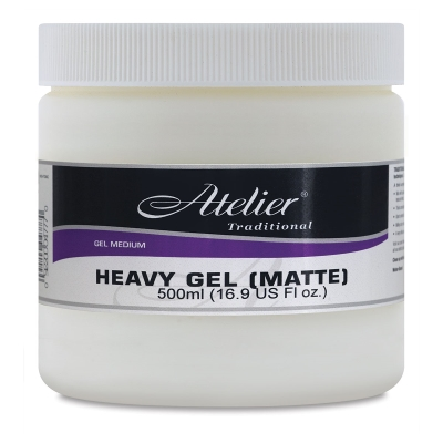 Heavy Gel, Matte, 16.9 oz