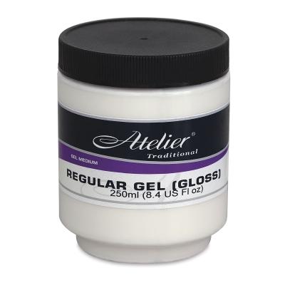 Regular Gel, Gloss, 8.4 oz
