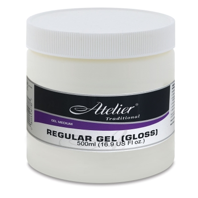 Regular Gel, Gloss, 16.9 oz