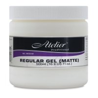 Regular Gel, Matte, 16.9 oz