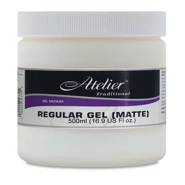 Regular Gel, Matte, 16.9 oz