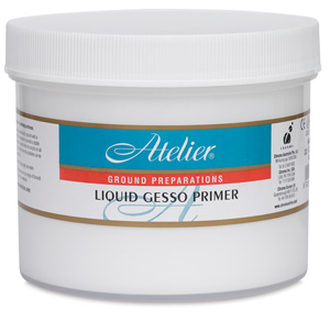 Liquid Gesso Primer, 32 oz