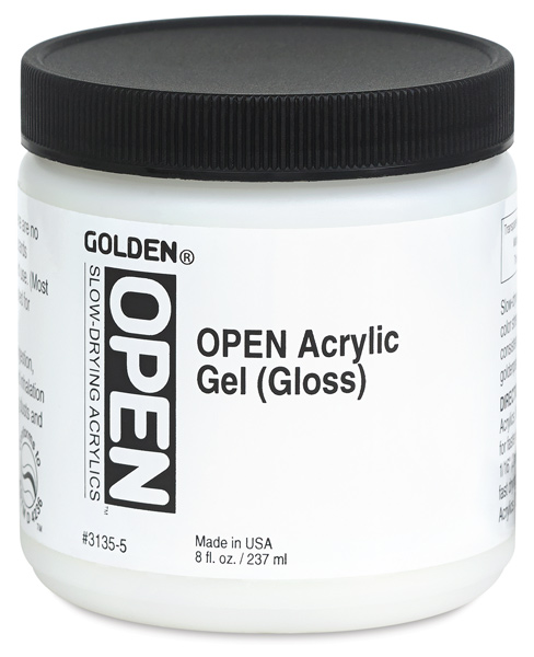 Acrylic Gel, Gloss, 8 oz Jar