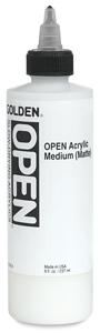 Acrylic Medium, Matte, 8 oz Bottle