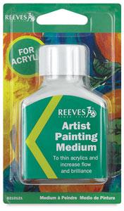 Artist Painting Medium