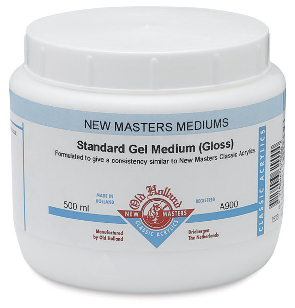 Standard Gel Medium, Gloss