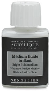 Gloss Fluid Medium, 75 ml