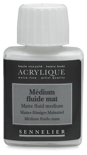 Matte Fluid Medium, 75 ml