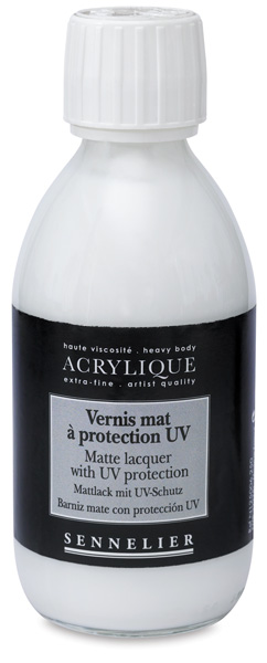 Matte Lacquer with UV Protection, 250 ml