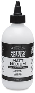 Matt Medium, 250 ml Bottle