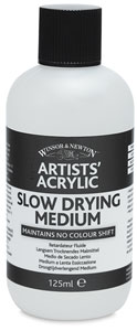 Slow Drying Medium, 125 ml Bottle
