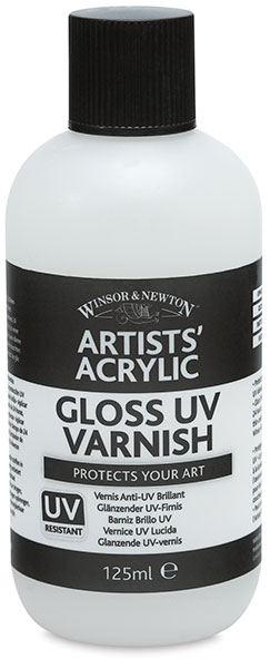 Gloss UV Varnish, 125 ml Bottle