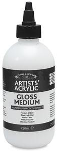 Gloss Medium, 250 ml Bottle