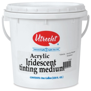 Iridescent Tinting Medium, 128 oz