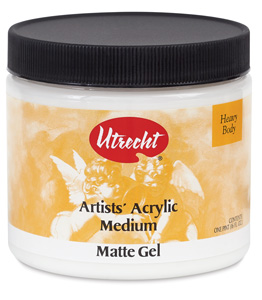 Gel Matte Medium, 16 oz