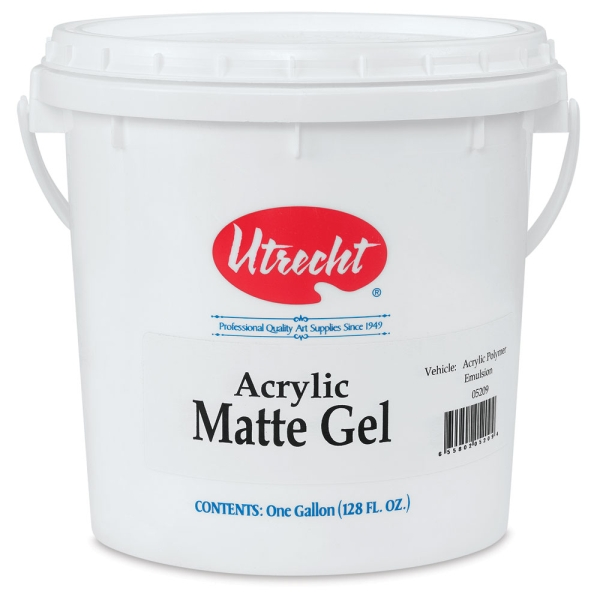 Matte Gel Medium, 128 oz