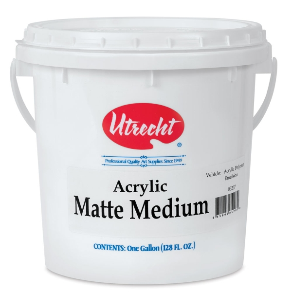 Matte Medium, Gallon