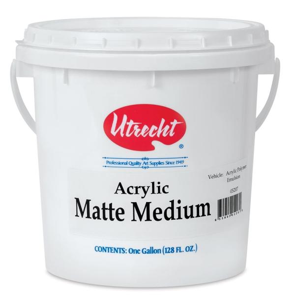 Matte Medium, Gallon