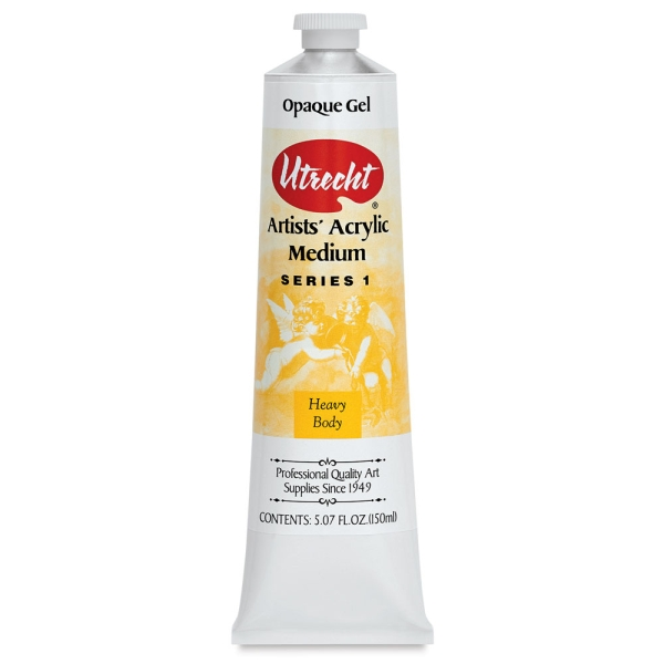 Opaque Gel Medium, 5 oz