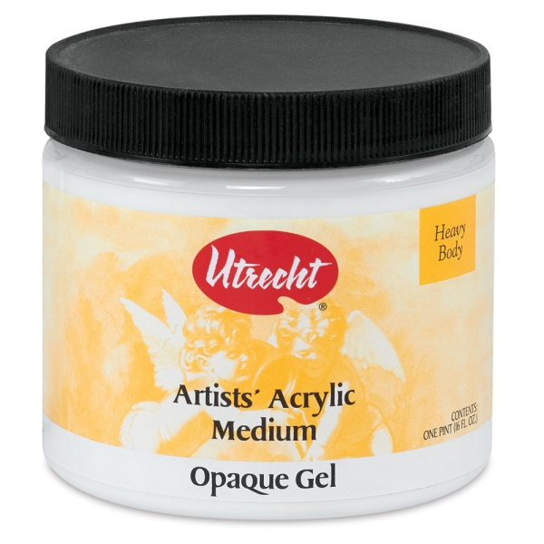 Opaque Gel Medium, 16 oz