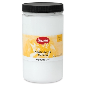 Opaque Gel Medium, 32 oz