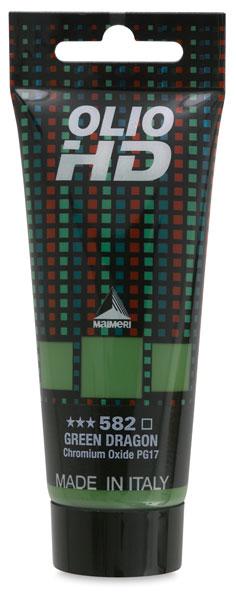 Olio HD Oil Color, Green Dragon