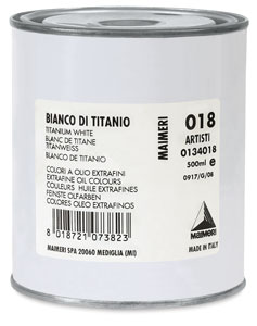 Titanium White, 500 ml can