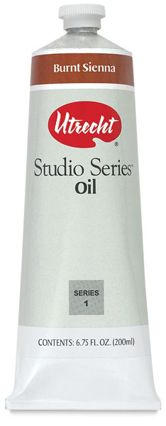 Studio Series Oil, Burnt Sienna, 200 ml Tube