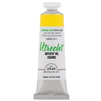 Utrecht Artists' Oil, Cadmium-Free Yellow Light, 37 ml