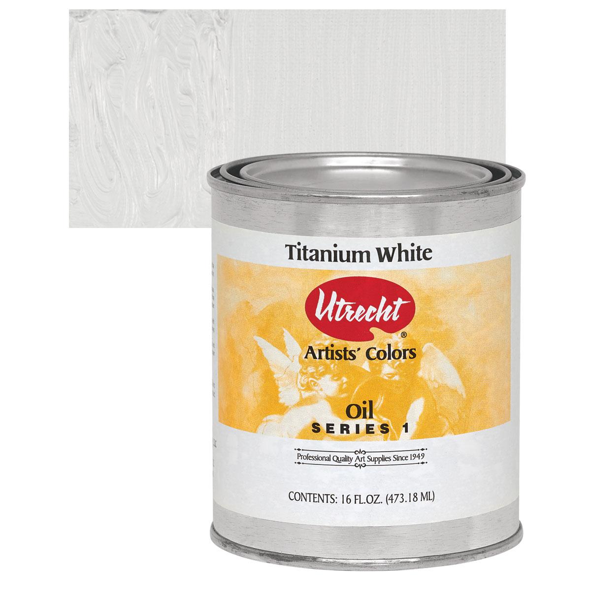 Utrecht White Oil Paint