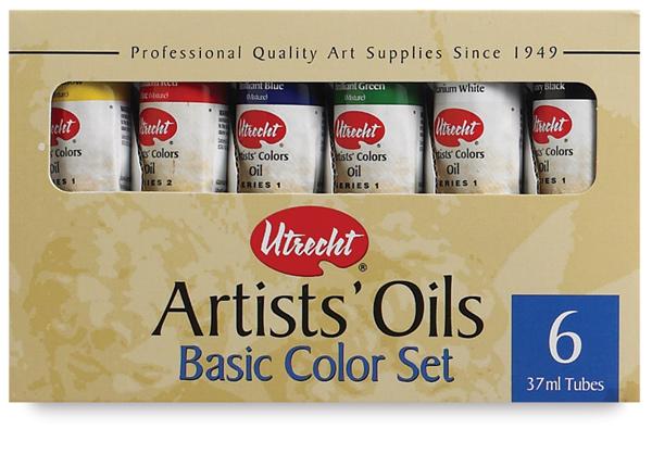 Basic Colors, Set of 6