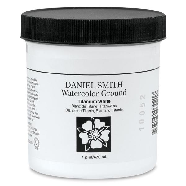 Daniel Smith Watercolor Ground, Titanium White, 16 oz