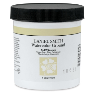 Daniel Smith Watercolor Ground, Buff Titanium, 16 oz