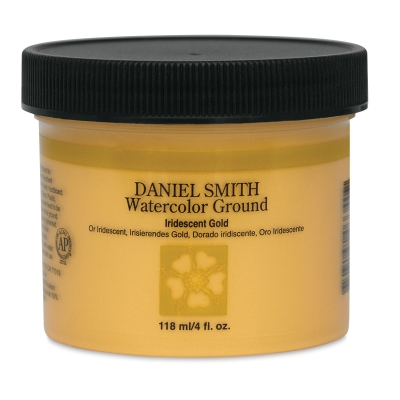 Daniel Smith Watercolor Ground, Iridescent Gold, 4 oz