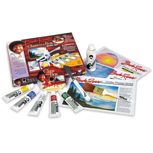 Bob Ross Class In A Box Basic Set Blick Art Materials