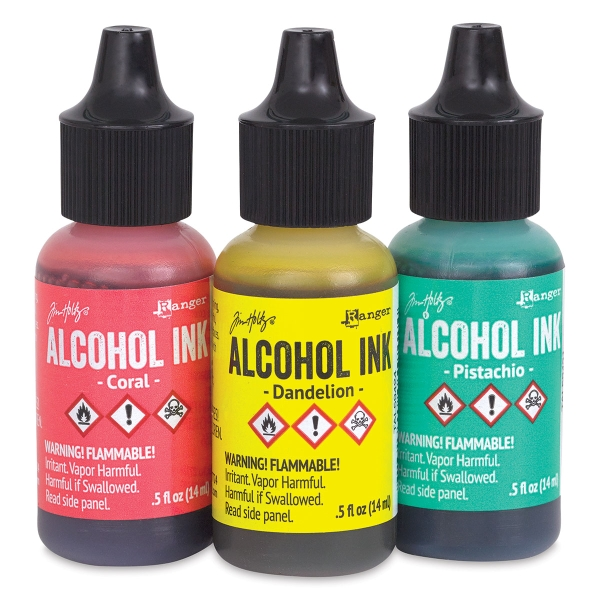 Inks, Key West, Pkg of 3