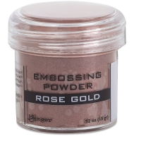 Embossing Powder, Rose Gold (Metallic)