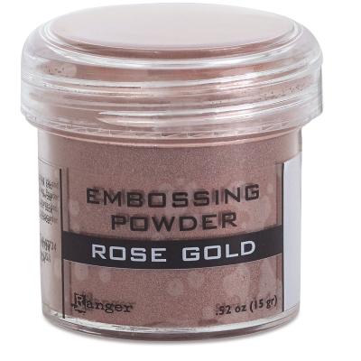 Embossing Powder, Rose Gold (Metallic)