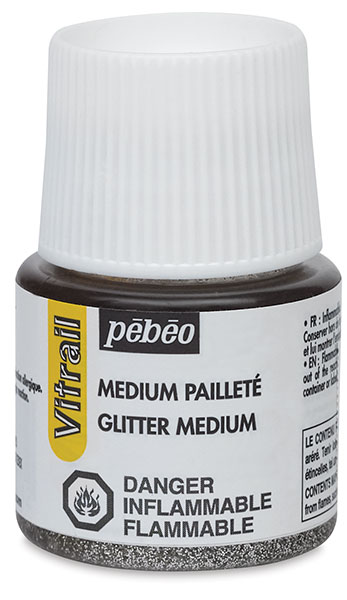 Vitrail Glitter Medium, 45 ml Bottle