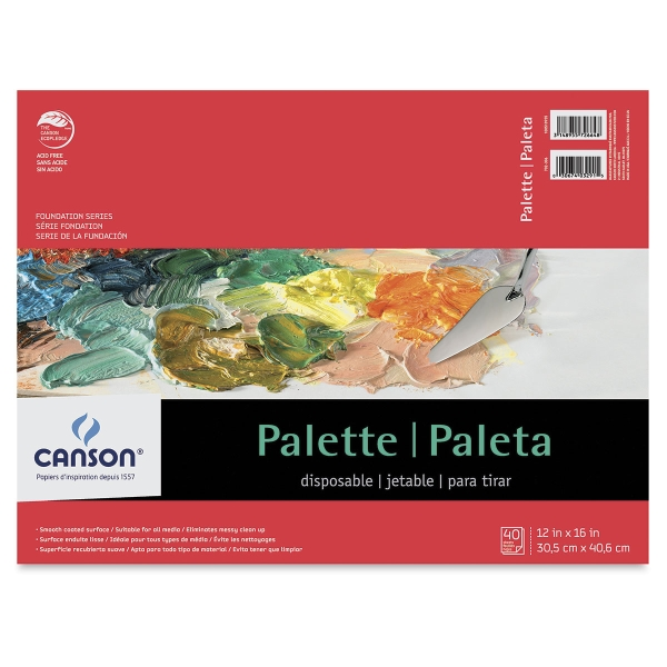 Disposable Palette, 40 Sheets