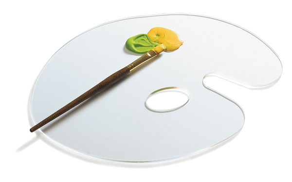Clear Acrylic Palette