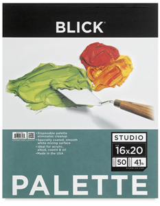 """Disposable Palette Paper Pad, 50 Sheets, 16"""" × 20"""""""