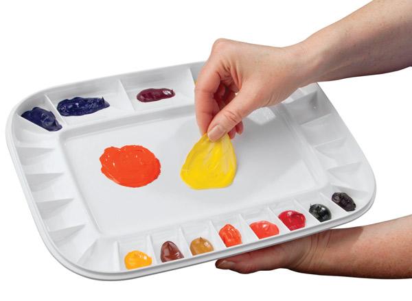 Peel-Off Palette w/ Lid
