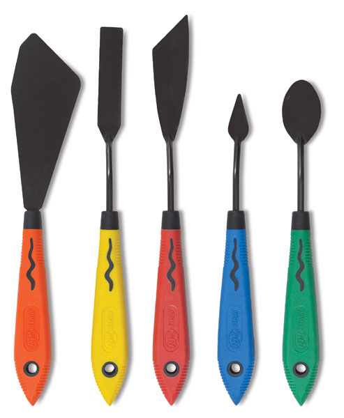 Multi-Colored Painting Knife Set