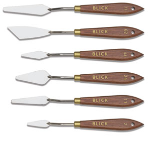 Painting Knives, Set of 6
