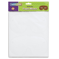 Creativity Street Die Cut Paper Masks, Pkg of 50